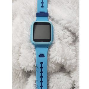 smart watch phone for kids blue in color  smart